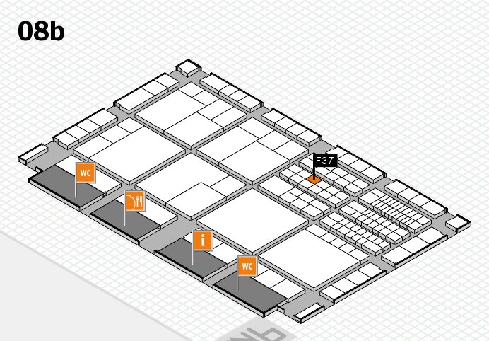 interpack 2017 hall map (Hall 8b): stand F37