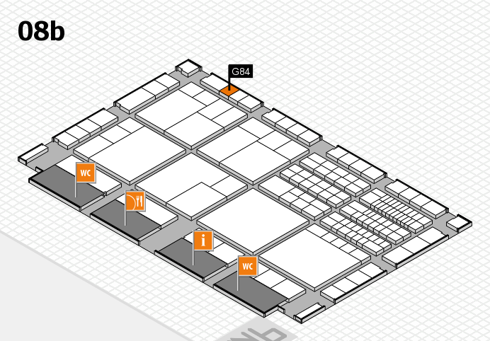 interpack 2017 Hallenplan (Halle 8b): Stand G84