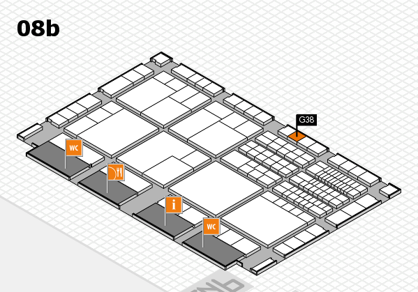 interpack 2017 hall map (Hall 8b): stand G38