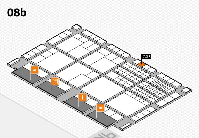 interpack 2017 Hallenplan (Halle 8b): Stand G38
