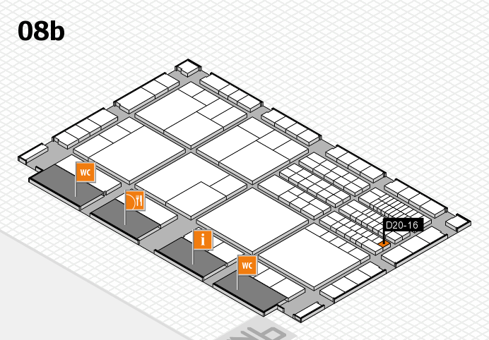 interpack 2017 hall map (Hall 8b): stand D20-16