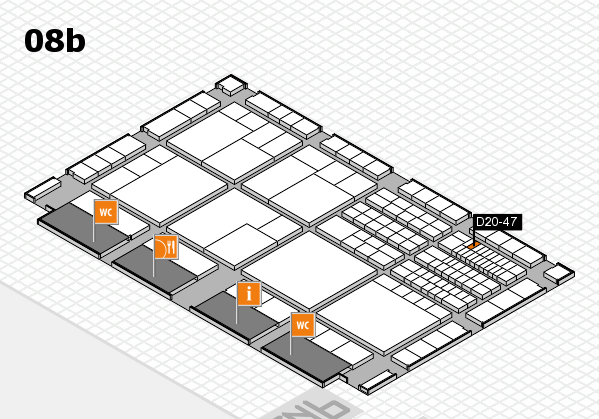 interpack 2017 hall map (Hall 8b): stand D20-47