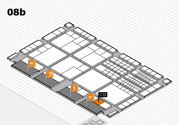 interpack 2017 hall map (Hall 8b): stand C13