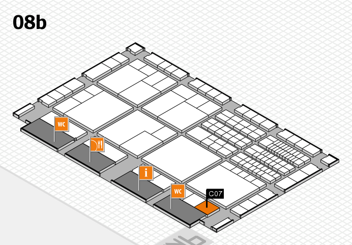 interpack 2017 Hallenplan (Halle 8b): Stand C07