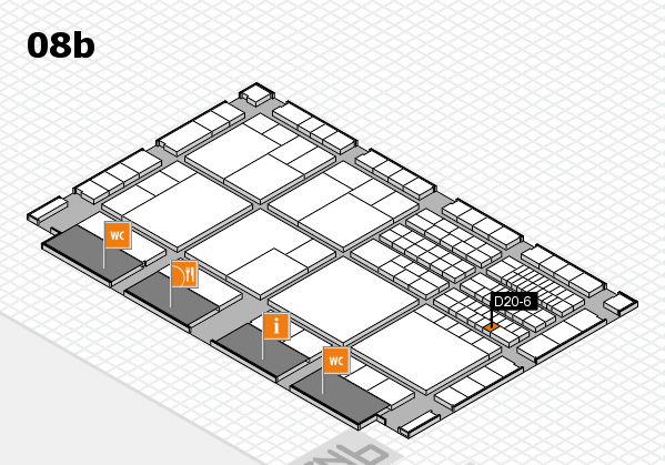 interpack 2017 hall map (Hall 8b): stand D20-6