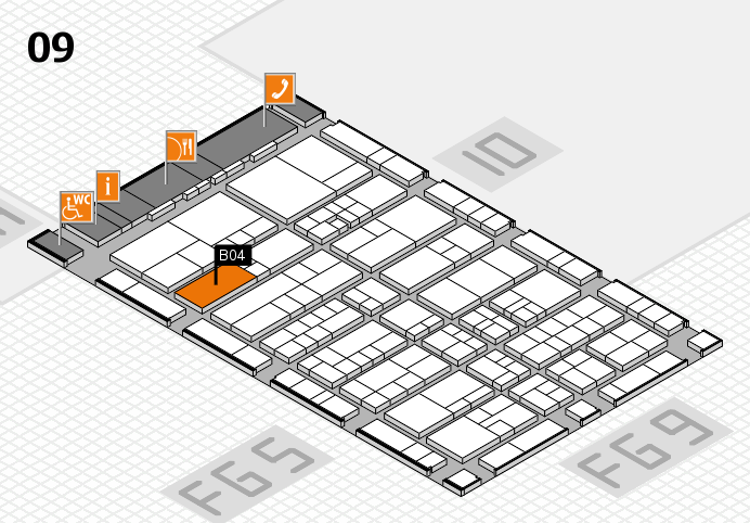 interpack 2017 hall map (Hall 9): stand B04.C03