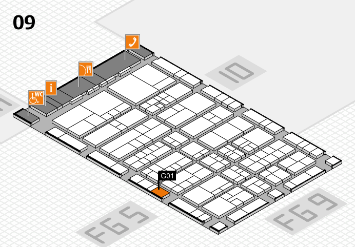 interpack 2017 hall map (Hall 9): stand G01