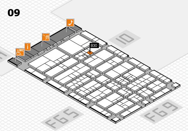 interpack 2017 Hallenplan (Halle 9): Stand B30