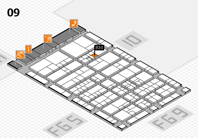 interpack 2017 hall map (Hall 9): stand B30