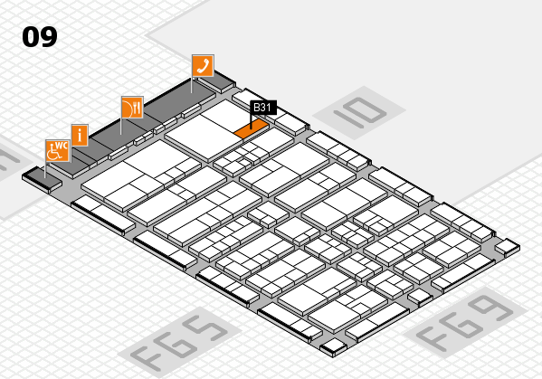 interpack 2017 hall map (Hall 9): stand B31