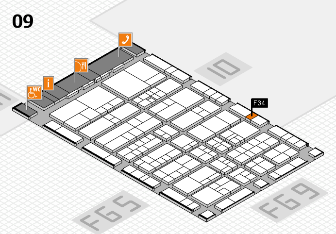 interpack 2017 hall map (Hall 9): stand F34