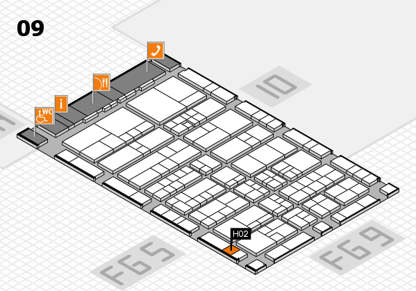 interpack 2017 hall map (Hall 9): stand H02