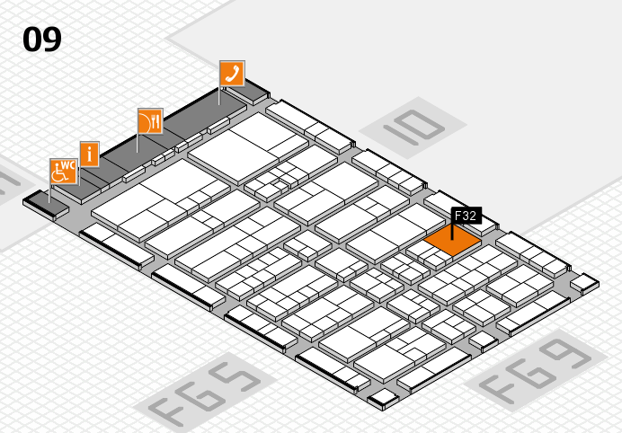 interpack 2017 hall map (Hall 9): stand F32