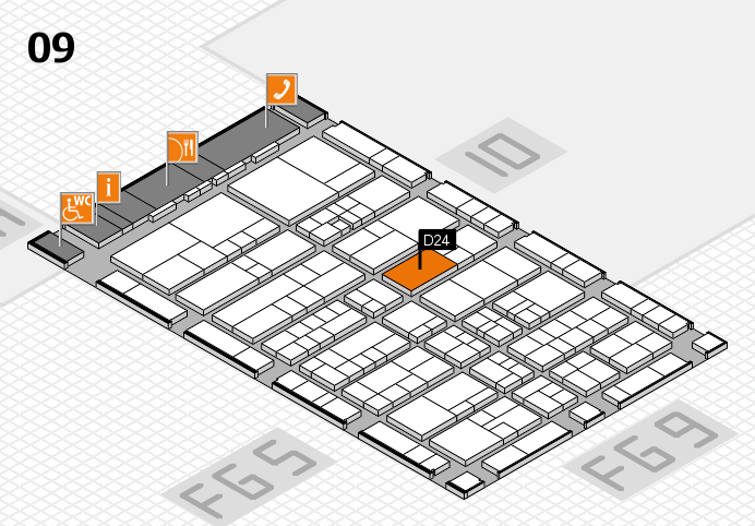 interpack 2017 hall map (Hall 9): stand D24