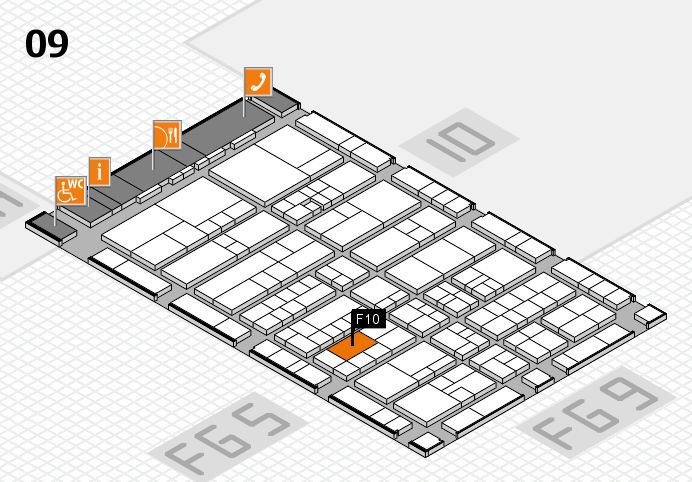 interpack 2017 hall map (Hall 9): stand F10