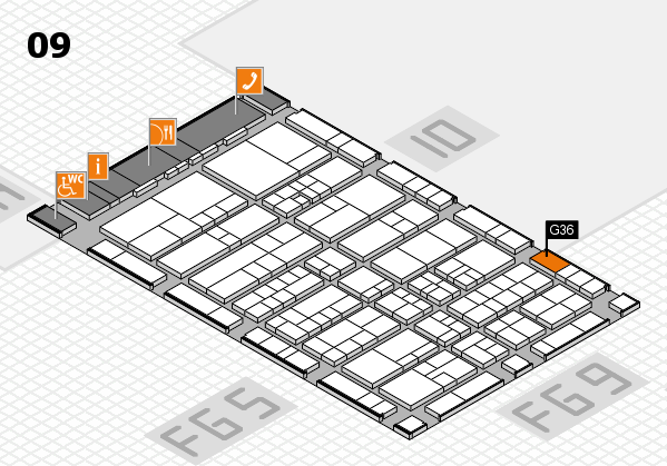 interpack 2017 hall map (Hall 9): stand G36
