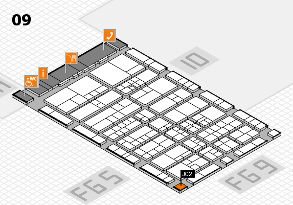 interpack 2017 hall map (Hall 9): stand J02
