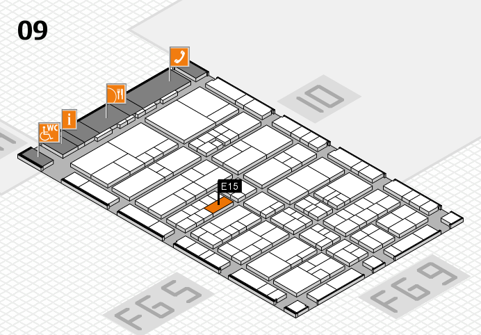 interpack 2017 hall map (Hall 9): stand E15