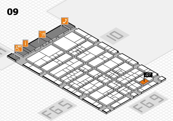 interpack 2017 hall map (Hall 9): stand J27