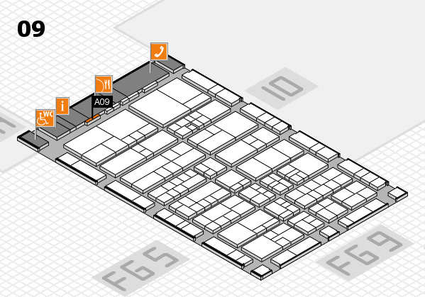 interpack 2017 hall map (Hall 9): stand A09