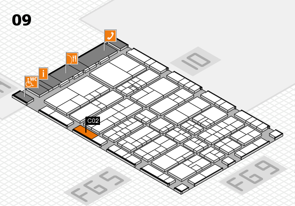 interpack 2017 hall map (Hall 9): stand C02