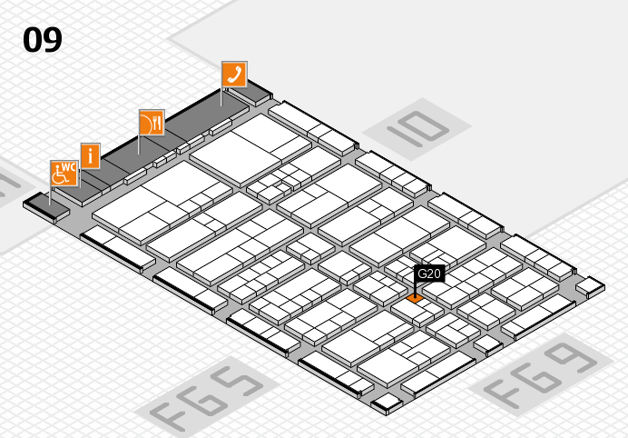interpack 2017 hall map (Hall 9): stand G20