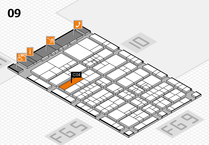 interpack 2017 hall map (Hall 9): stand C04