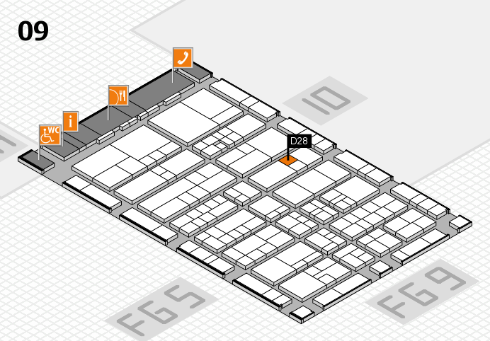 interpack 2017 hall map (Hall 9): stand D28