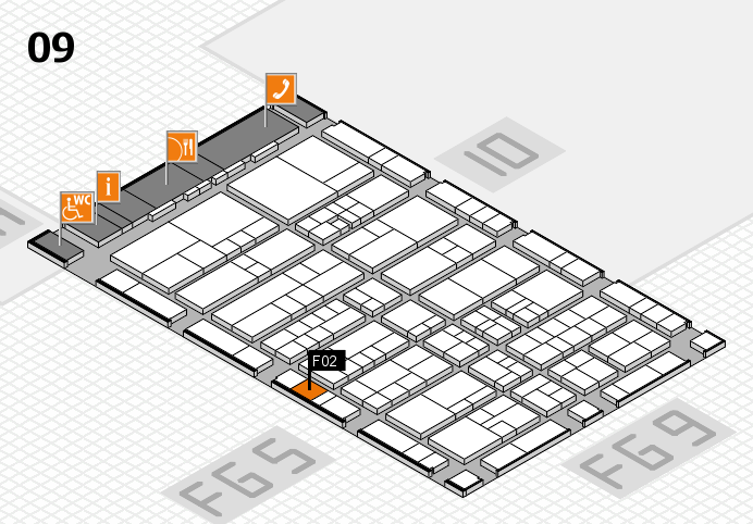 interpack 2017 Hallenplan (Halle 9): Stand F02