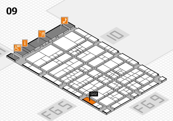 interpack 2017 Hallenplan (Halle 9): Stand G02