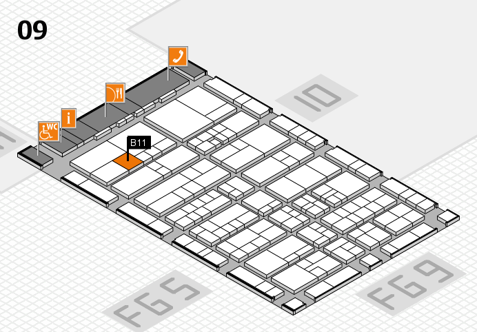 interpack 2017 hall map (Hall 9): stand B11