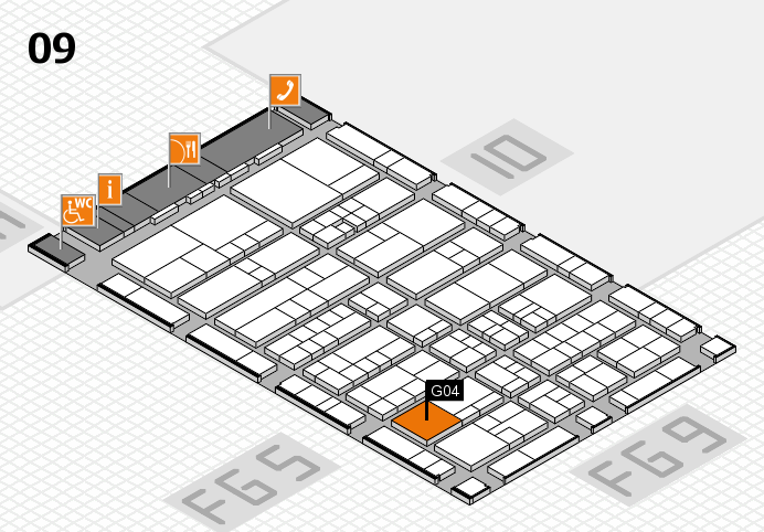 interpack 2017 hall map (Hall 9): stand G04
