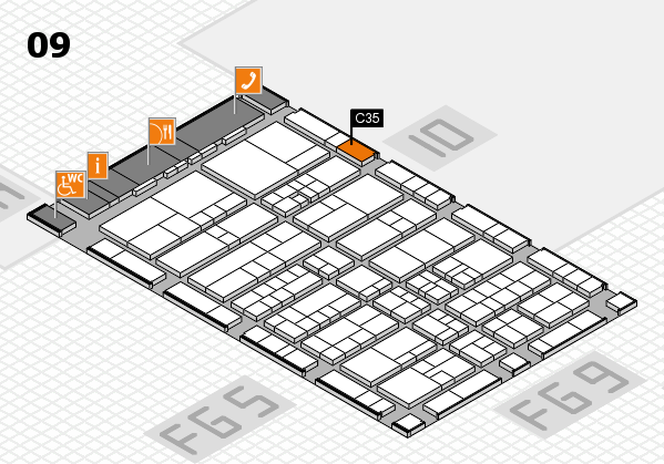 interpack 2017 hall map (Hall 9): stand C35