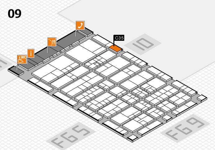 interpack 2017 Hallenplan (Halle 9): Stand C35