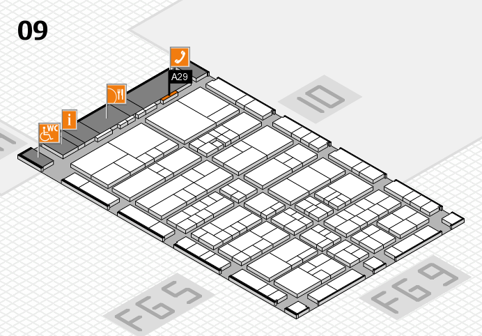 interpack 2017 hall map (Hall 9): stand A29
