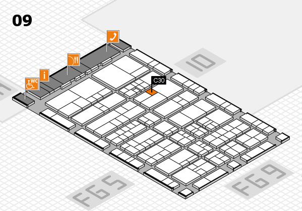 interpack 2017 Hallenplan (Halle 9): Stand C30
