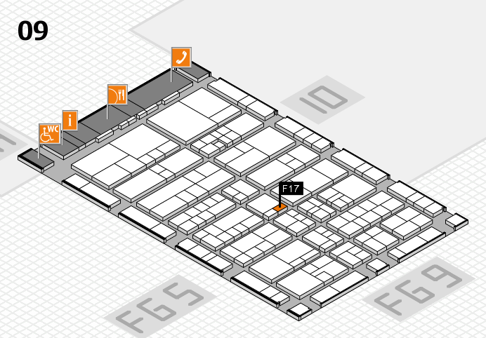 interpack 2017 hall map (Hall 9): stand F17