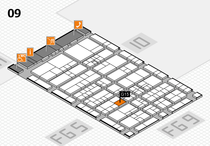 interpack 2017 hall map (Hall 9): stand G15