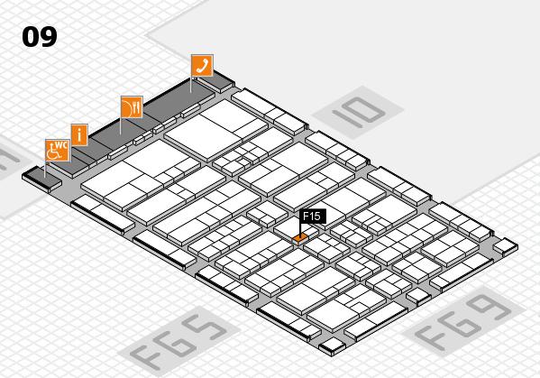 interpack 2017 Hallenplan (Halle 9): Stand F15