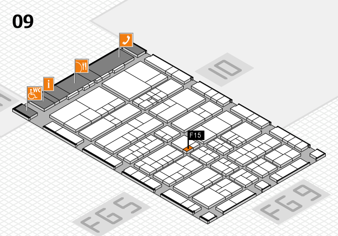 interpack 2017 hall map (Hall 9): stand F15