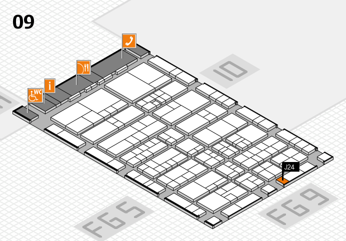 interpack 2017 hall map (Hall 9): stand J24