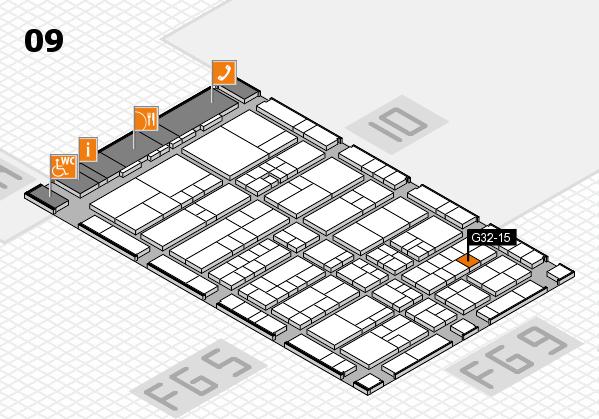 interpack 2017 Hallenplan (Halle 9): Stand G32-15
