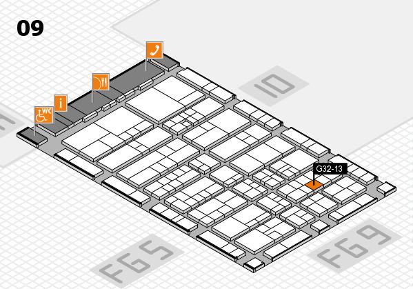 interpack 2017 Hallenplan (Halle 9): Stand G32-13