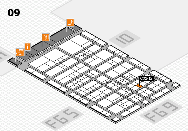 interpack 2017 hall map (Hall 9): stand C32-12