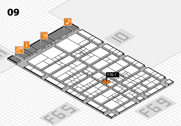 interpack 2017 hall map (Hall 9): stand F16-1
