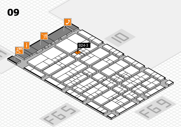 interpack 2017 hall map (Hall 9): stand B24-3