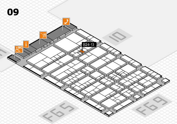 interpack 2017 hall map (Hall 9): stand B24-13