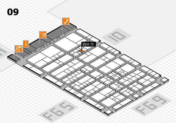 interpack 2017 Hallenplan (Halle 9): Stand B24-13