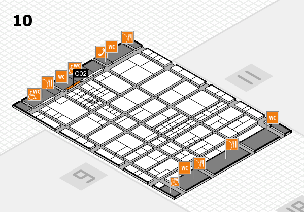 interpack 2017 hall map (Hall 10): stand C02