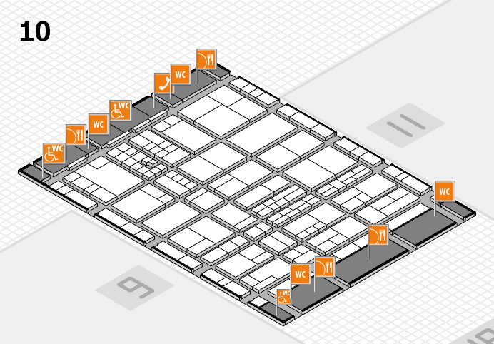 interpack 2017 hall map (Hall 10): stand E18